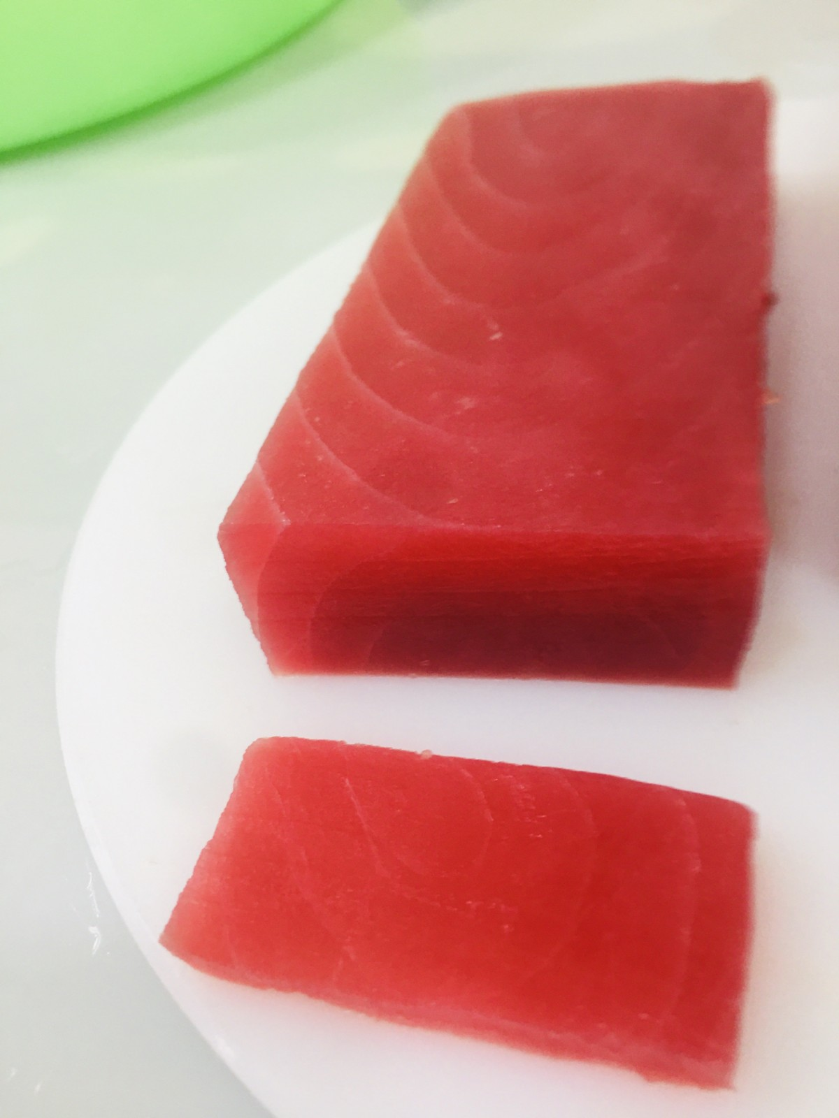 frozen yellowfin tuna saku